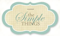 SIMPLE THINGS  button